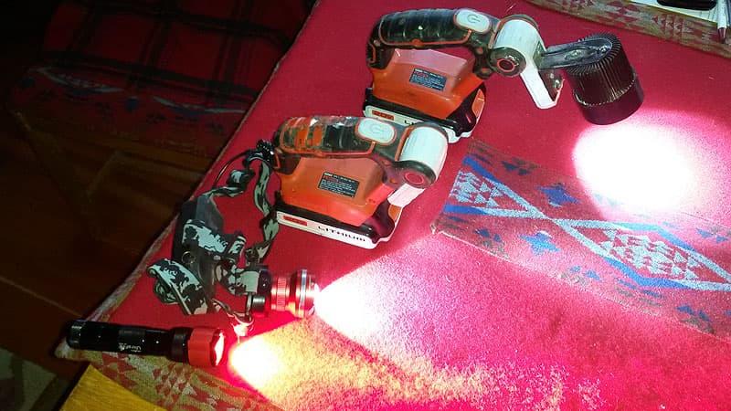 Black+Decker 20-Volt Max flashlights