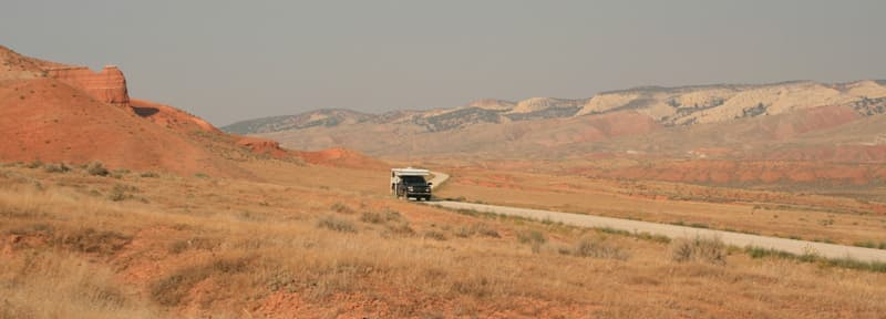 Fire Tire in Ten Sleeps, Wyoming