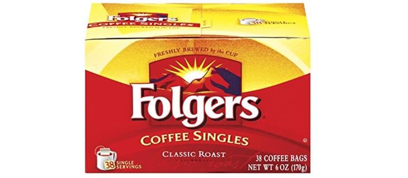 Folgers Coffee Singles Caffeine