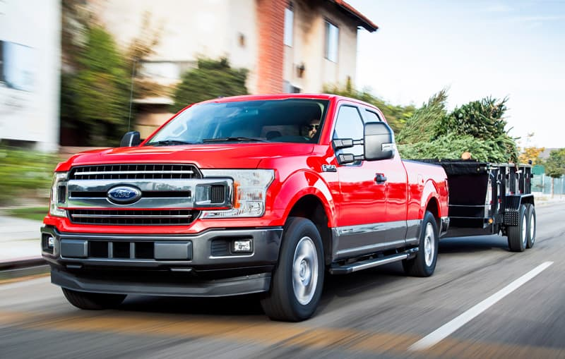 Ford F150 Diesel Truck Towing