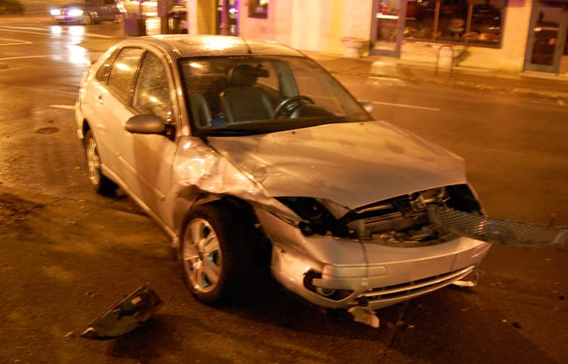 Ford Focus car accident crash