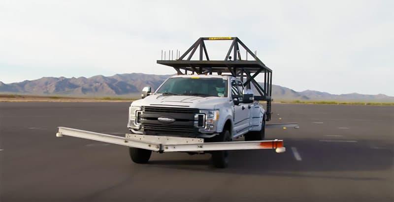 driving a Ford truck camper simulator