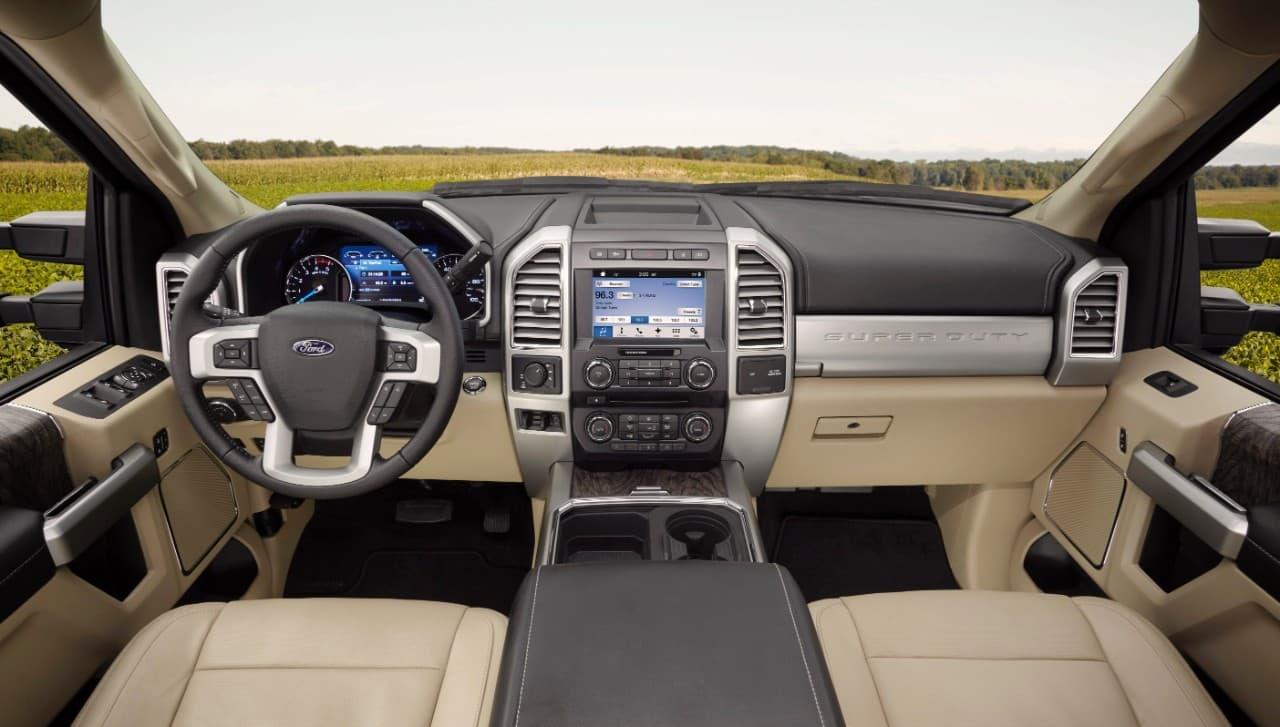 2017 Ford F250 Lariat Interior