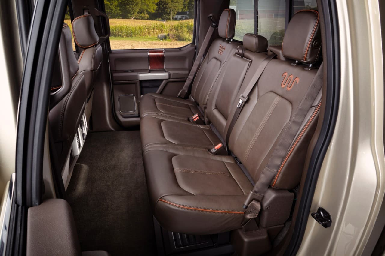 Above 2017 Ford F350 King Ranch Interior Click To Enlarge ...