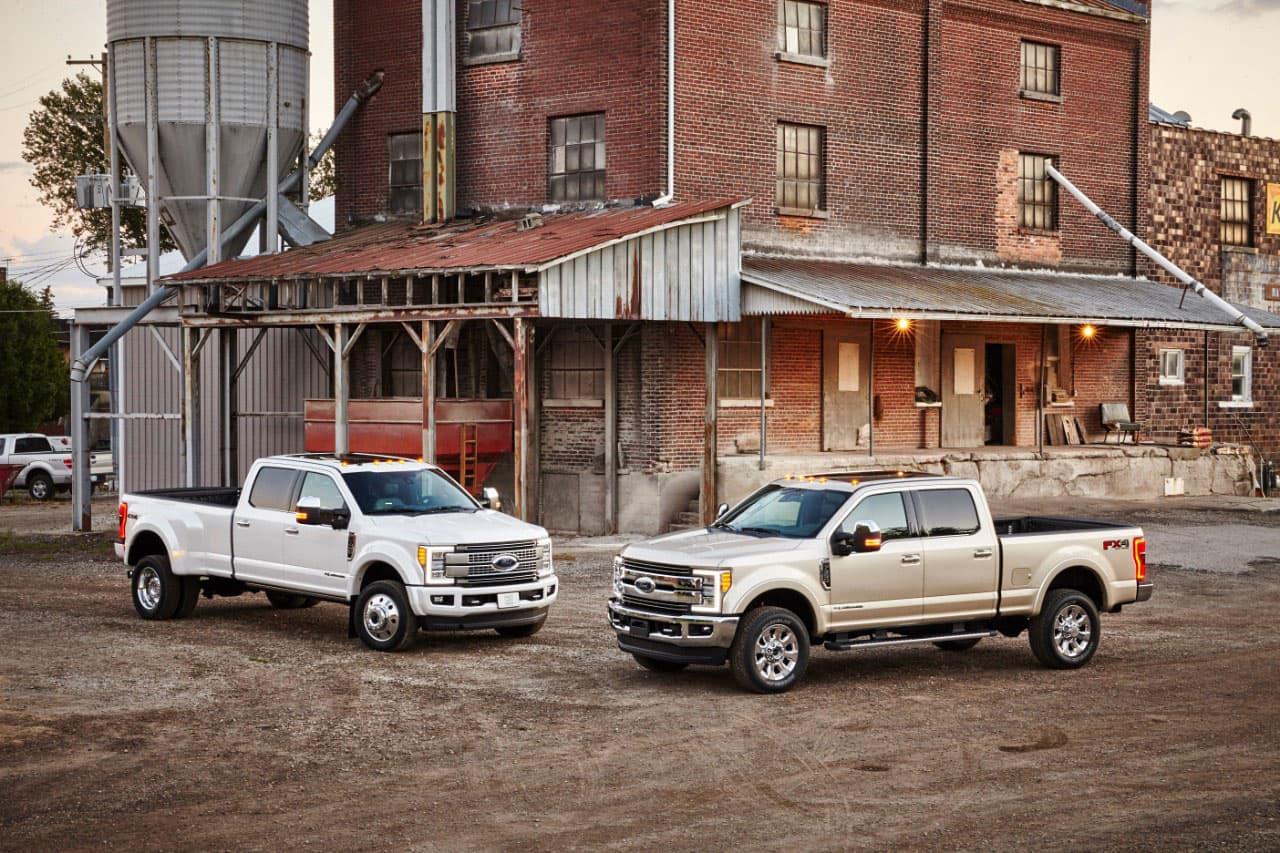 2017 Ford Super Duty All-Aluminum Trucks Announced