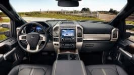 2017-Ford-F450-Platinum-interior