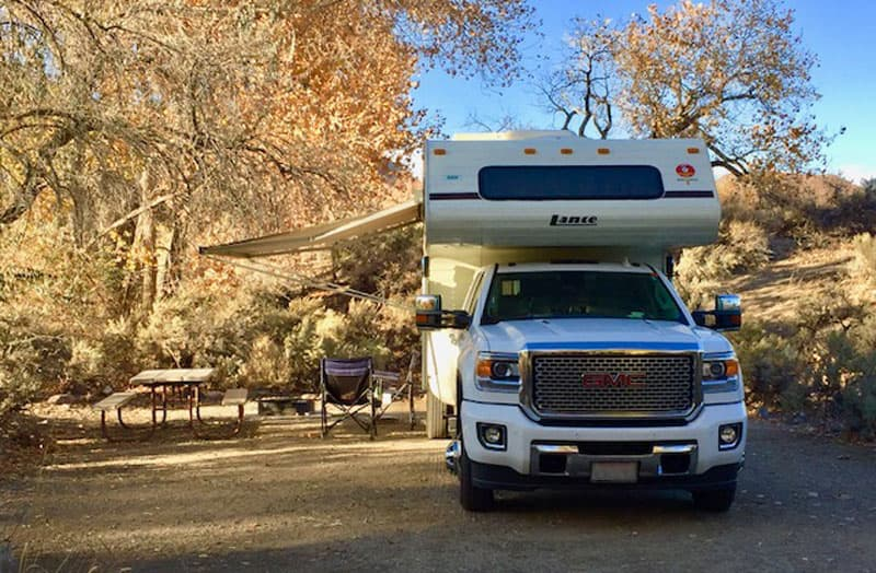 Fort Churchill State Park Camping