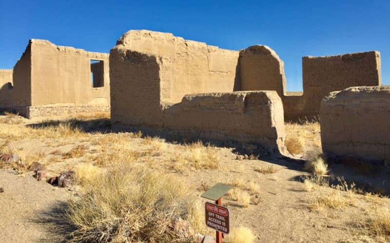 Fort Churchill Built In 1861