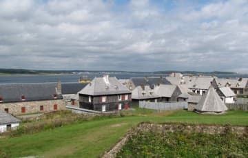 Fortress of Louisbourg Nova Scotia 1