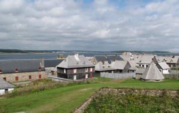 Fortress of Louisbourg Nova Scotia 1