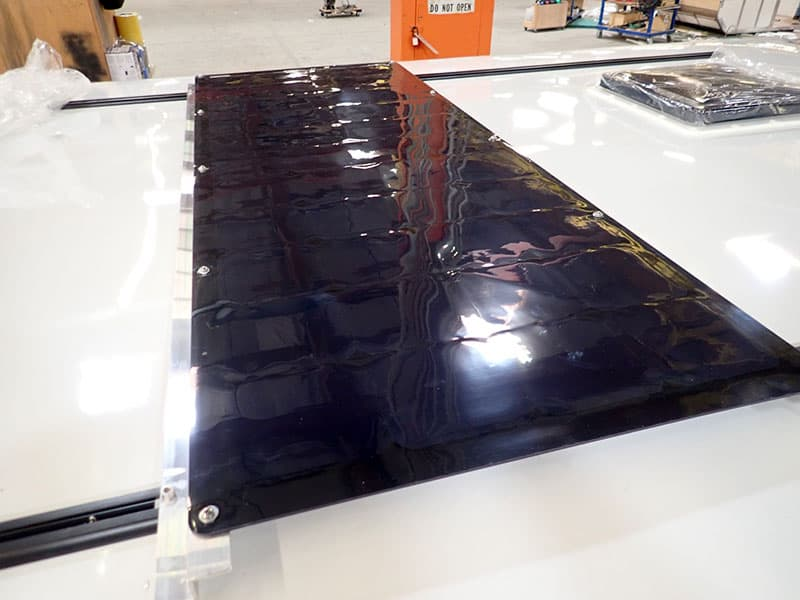 Four Wheel Camper Overland Solar Panel Flat
