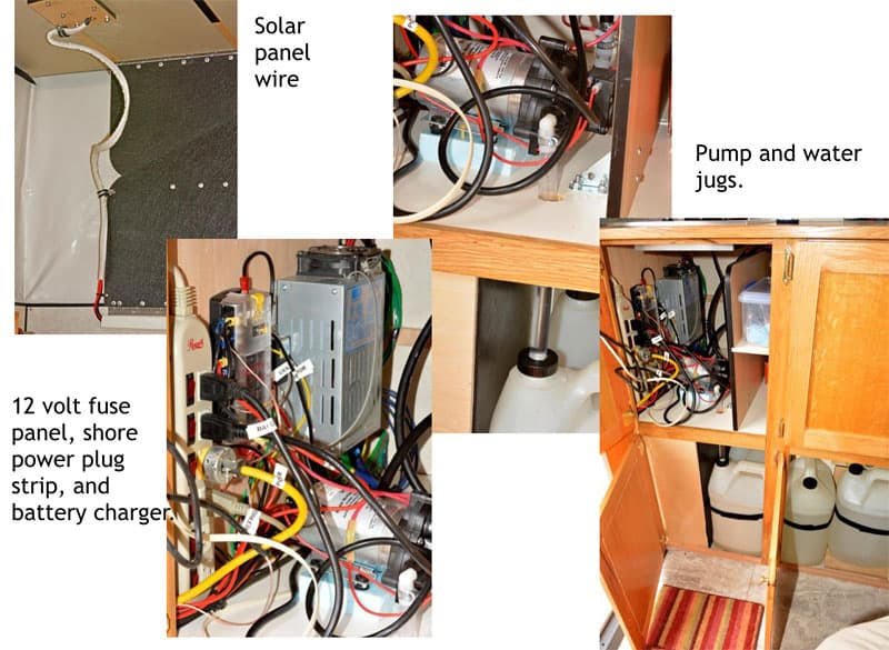 Four Wheel Shell solar wires