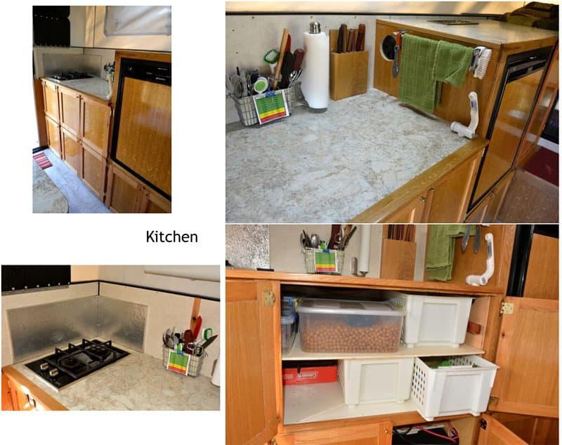 Four Wheel Shell kitchen