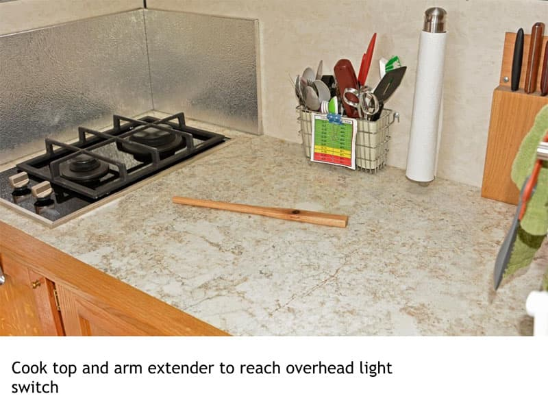 Four Wheel Shell cooktop