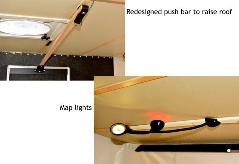 Four Wheel Shell redesigned push bar