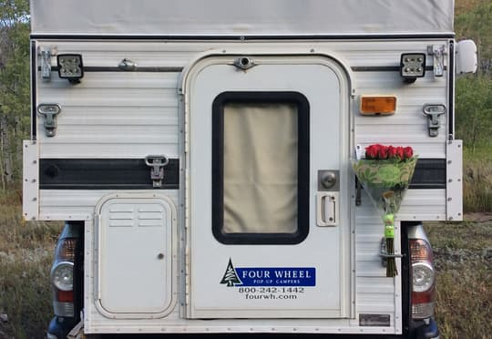 Full-Time-Four-Wheel-Camper-roses-just-because