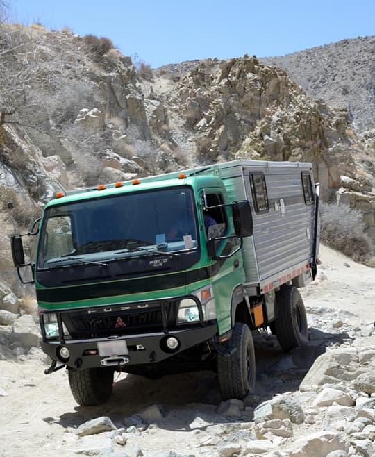 The Fuso Four Wheel Camper Truck Camper Magazine