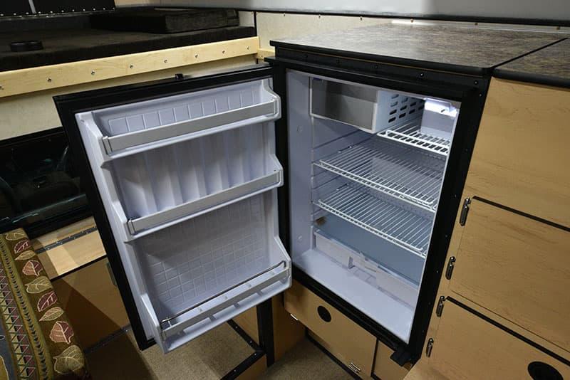 Four Wheel Hawk Refrigerator Open