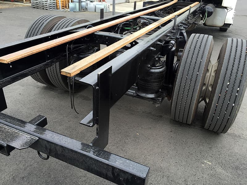 Flatbed conversion, extending the bed length