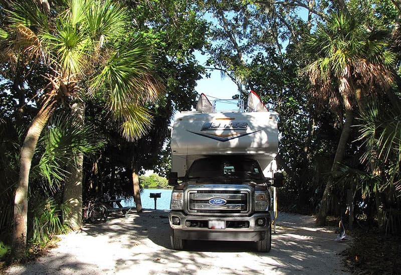 Ft Desoto camping spot