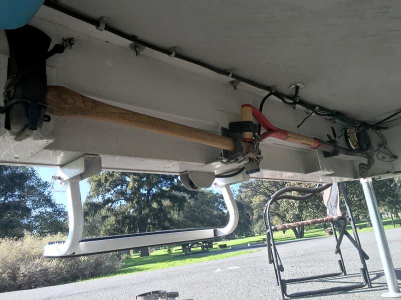 Full Size Tools under bumper