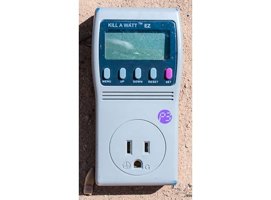 RV-solar-Kill-A-Watt-Meter