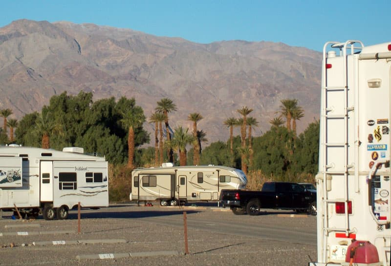 Furnace Creek Sunset Campground