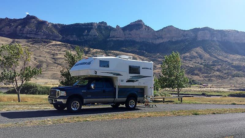 Northern Lite snowbird camping in Arizona