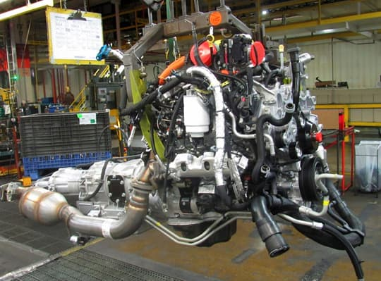 GMC-truck-build-engine