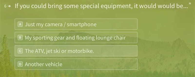 GORVing Canada special equipment