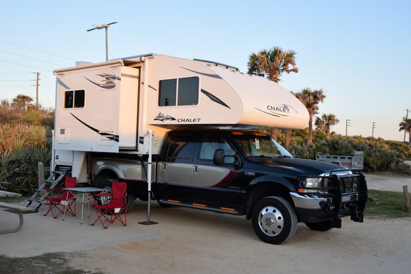 Gamble Rogers State Park Florida Campsite