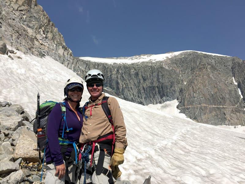 Gannett Peak, Wyoming hike to the summit