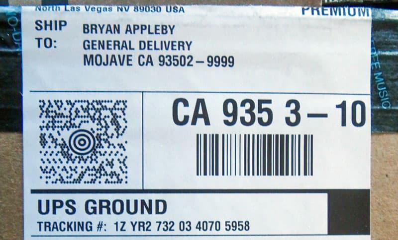 General-Delivery-sent-UPS
