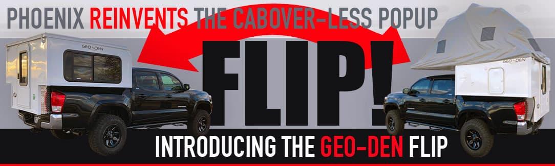 Geo Den Flip Tent Camper
