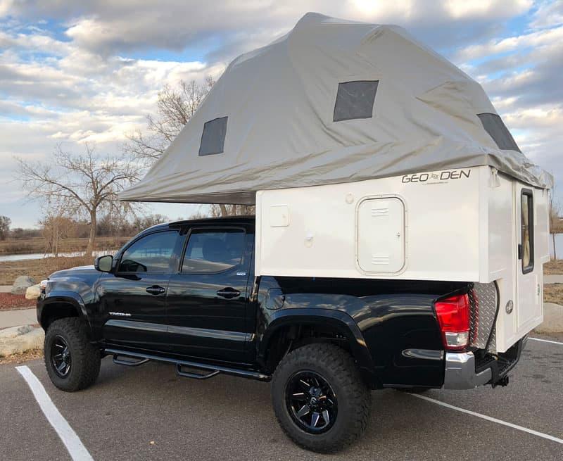 Geo Den Flip Driver Tent