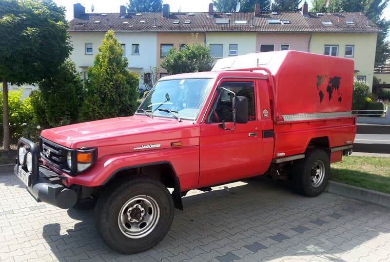 Germany special made camper