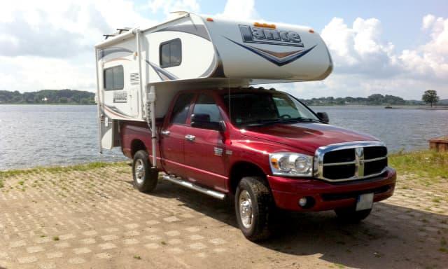 Lance Truck Camper in Germany