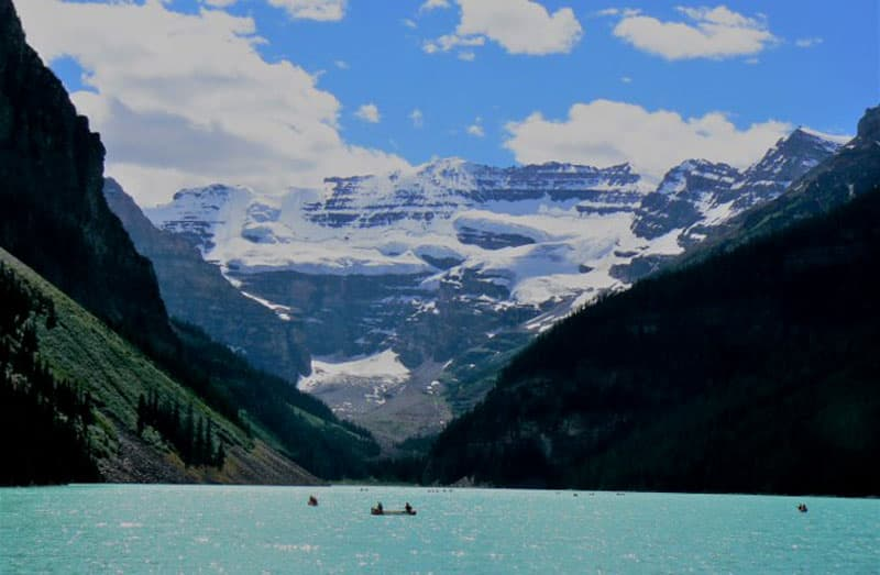 Glacial Blue Water Canadian Rockies