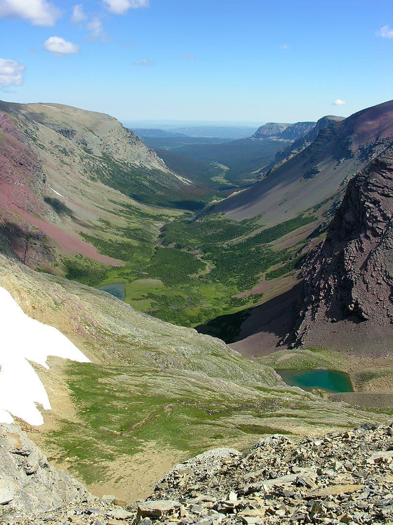 Siyeh Pass Trail, Glacier