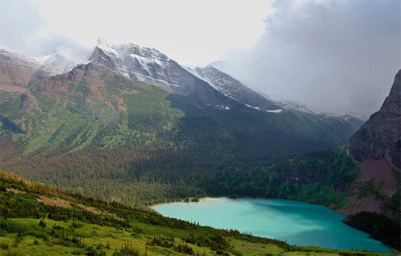 Grinnell Lake, Montana, Glacier National Park