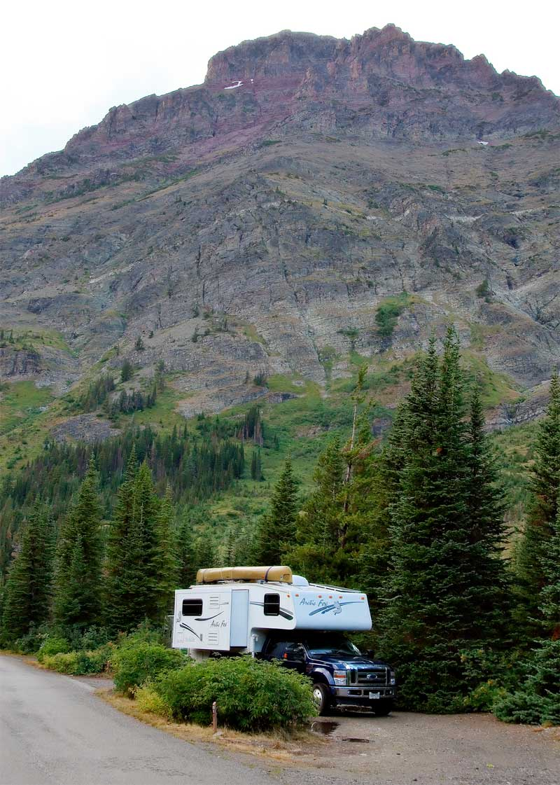 Two Medicine Campground, Glacier National Park, Montana
