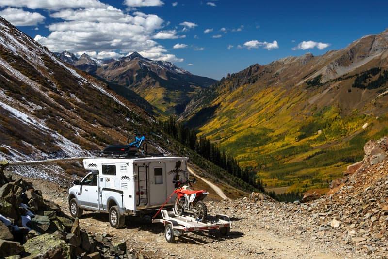 Off-Road terrain truck camper