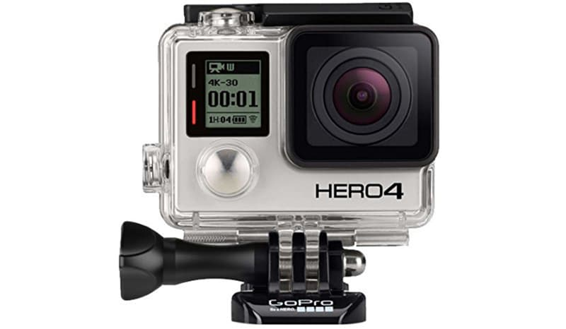 GoPro 4 As Dash Camera