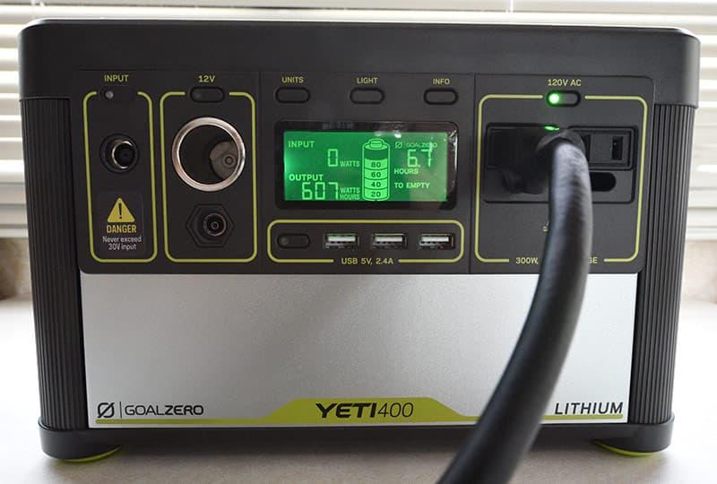 Goal Zero Yeti 400 Lithium Screen