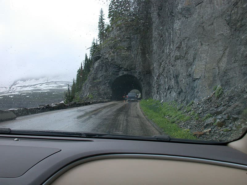 Going to the Sun Road height restrictions