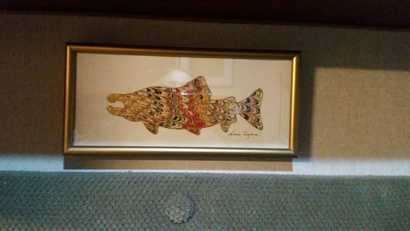 Goodrich fish print