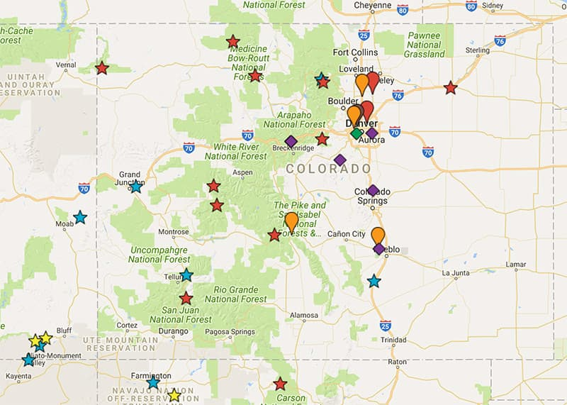 Google Maps Colorado