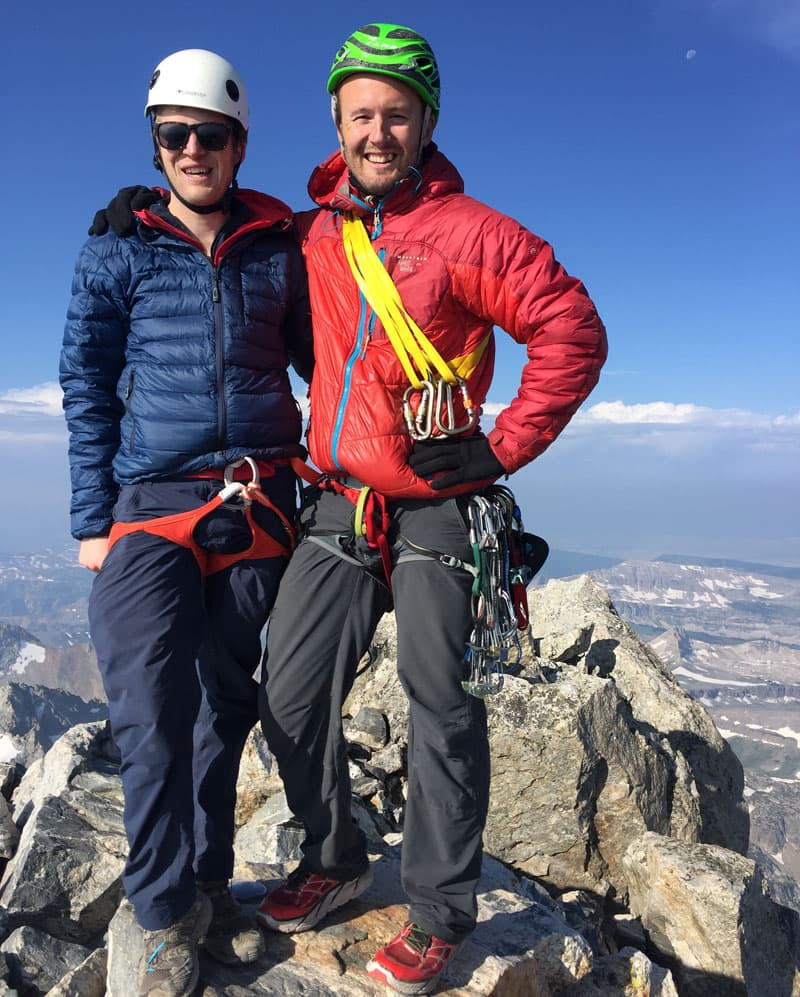 Grand Teton Summit Climbing Rigel