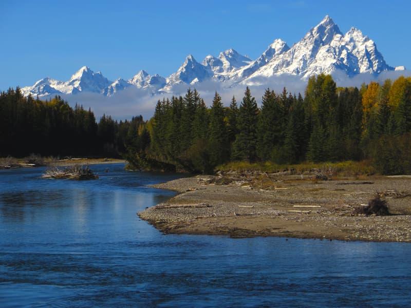 Grand Tetons in Wyoming