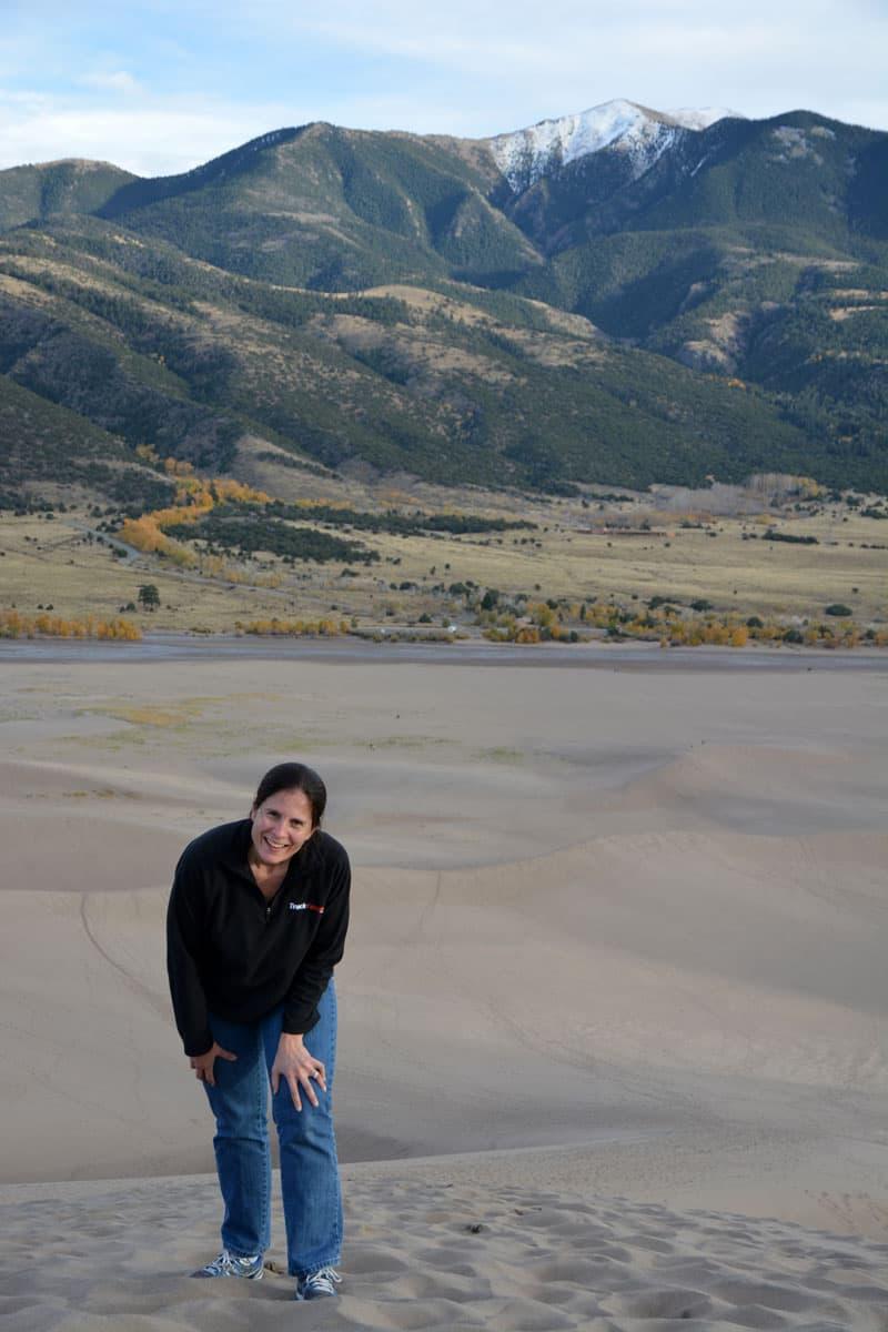 Great Sand Dunes Colorado hike